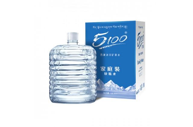 40桶 x 12L 5100家庭装软包桶装水劵