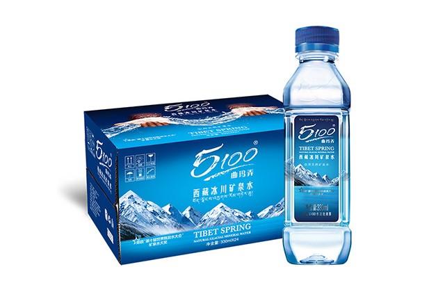 [原箱] 5100西藏冰川矿泉水330ml x 24瓶