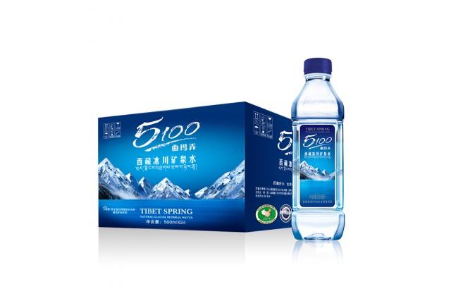 [原箱] 5100西藏冰川矿泉水500ml x 24瓶