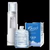 20桶 x 12L 5100家庭装软包桶装水 + Q6 5100专用立式真空双温(室温、加热)饮水机