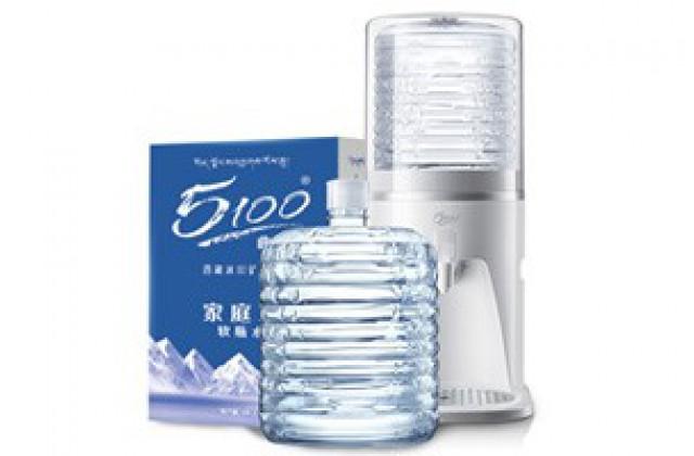 40桶 x 12L 5100家庭装软包桶装水 + Q5 5100专用台式室温饮水机